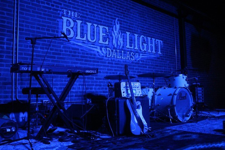 The Blue Light Dallas TX