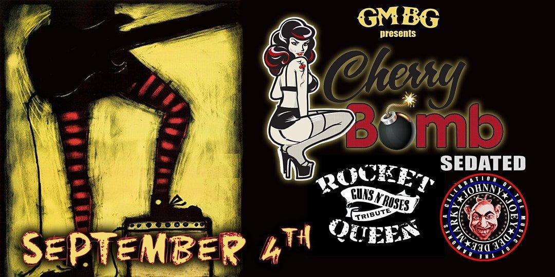Cherry Bomb, Sedated, Rocket Queen