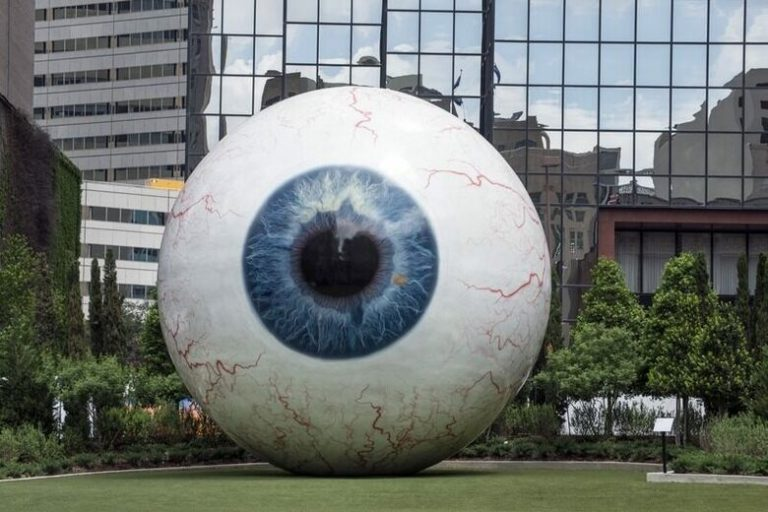 Giant Eyeball Dallas TX 768x512