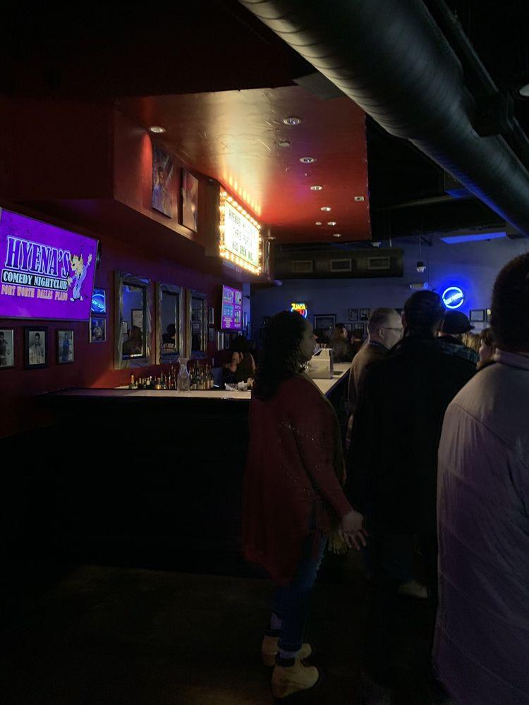 hyenas comedy nightclub dallas