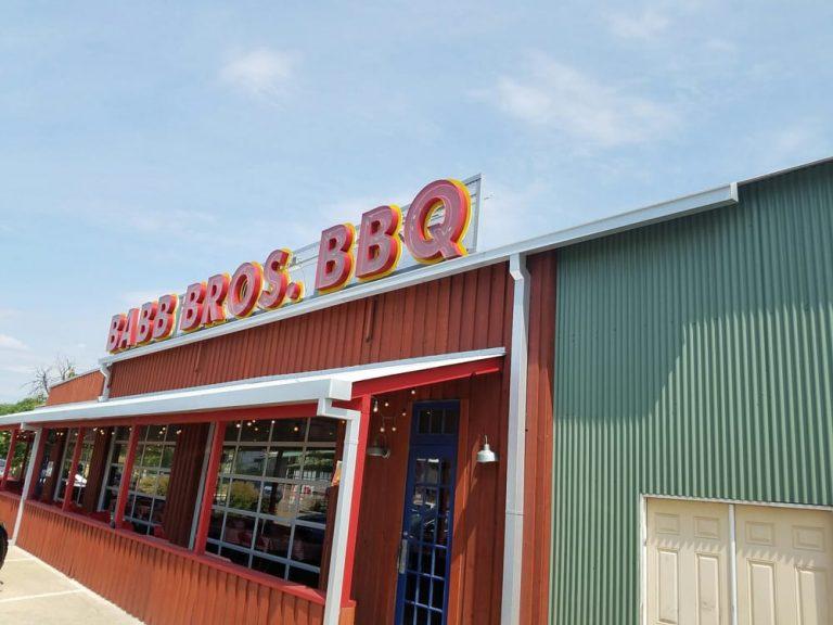 Babb Brothers BBQ Blues Dallas TX 768x576